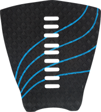 Stay Covered - 1pc Decoy - Wave Blk / Cyan Traction - Surfboard Traction