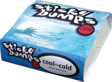 Sticky Bumps - Cool / Cold Single Bar - Surfboard Wax