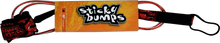 Sticky Bumps - Comp 6' Leash Clr / Red - Surfboard Leash