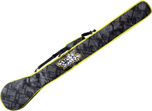"""Sticky Bumps - Sup Paddle Cover 84"""" Blk / Yel / Reflective - Surfboard Boardbag"""