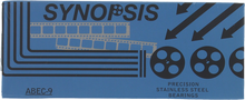 Synopsis - Abec - 9 Stainless Steel Bearings - Skateboard Bearings