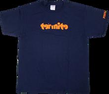 Termite - Logo Yth Ss M - Navy / Org - Youth Tshirt