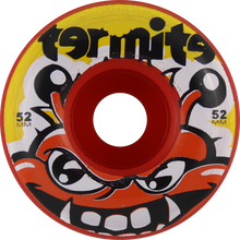Termite - Tommy 52mm Red - (Set of Four) Skateboard Wheels
