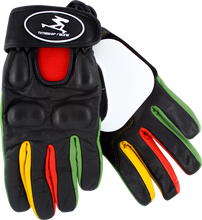 Timeship Racing - Kody Noble Slide Gloves Xs - Blk / Rasta - Skateboard Pads