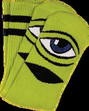 Toy Machine - Sect Eye Iii Crew Socks - Green 1 Pair