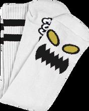 Toy Machine - Monster Face Crew Socks White 1 Pair