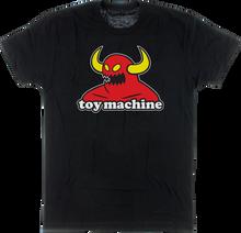 Toy Machine - Monster Ss S - Black - Skateboard Tshirt