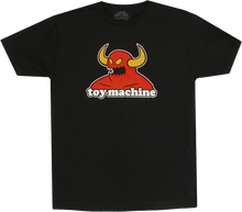 Toy Machine - Monster Ss M - Black - Skateboard Tshirt