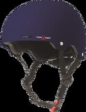 Triple Eight - Gotham Helmet Xs / S - Blue Matte Rubber Cpsc / Astm - Skateboard Helmet