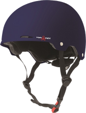 Triple Eight - Gotham Helmet L / Xl - Blue Matte Rubber Cpsc / Astm - Skateboard Helmet