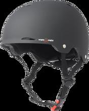 Triple Eight - Gotham Helmet S / M - Black Rubber Cpsc / Astm - Skateboard Helmet