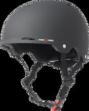 Triple Eight - Gotham Helmet Xs / S - Black Rubber Cpsc / Astm - Skateboard Helmet