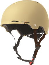 Triple Eight - Gotham Helmet S / M - Cream Matte Rubber Cpsc / Astm - Skateboard Helmet