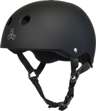 Triple Eight - Helmet Blk Rubber / Blk L - Skateboard Helmet