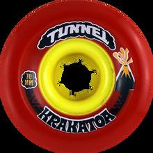 Tunnel - Krakatoa Slide 70mm 81a Red - (Set of Four) Skateboard Wheels