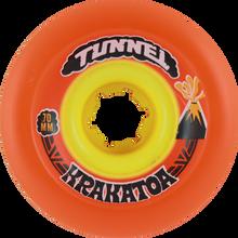 Tunnel - Krakatoa Slide 70mm 78a Orange - (Set of Four) Skateboard Wheels
