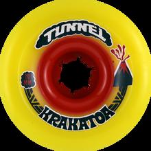 Tunnel - Krakatoa Slide 70mm 84a Yellow - (Set of Four) Skateboard Wheels