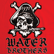 Water Brothers - Brothers Pirate Ss L Sale - Skateboard Tshirt