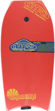 "Wave Rebel - Rebel Shoreline 39"" Red Bodyboard"