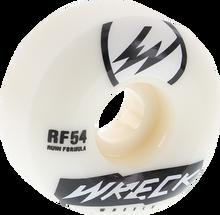 Wreck Wheels - W2 54mm 101a Wht / Blk - (Set of Four) Skateboard Wheels