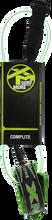 XM - Core Ds Complite Leash 6' Green - Surfboard Leash