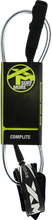 XM - Core Ds Complite Leash 6' Black - Surfboard Leash