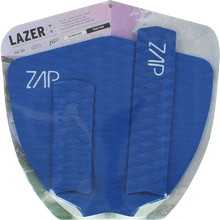 Zap - Lazer Tail / Arch Bar Set Blue - Surfboard Traction