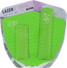 Zap - Lazer Tail / Arch Bar Set Lime - Surfboard Traction