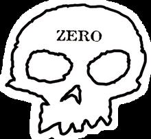 Zero - Skull Decal Single - Skateboard Decal