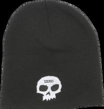 Zero - Skull Beanie Black