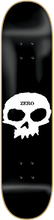Zero - Single Skull Deck - 8.0 - Skateboard Deck