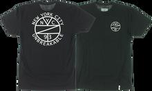 Zooyork - Kings Unbreakable Emblem Ss S - Black - Skateboard Tshirt