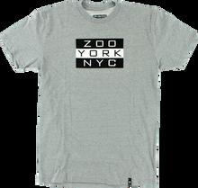 Zooyork - Kings Golden Era Flag Ss S - Heather Grey - Skateboard Tshirt