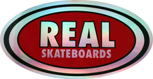 Real - Oval Prism Sm Decal Single