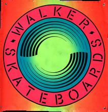 Walker - Round Banner 35x35
