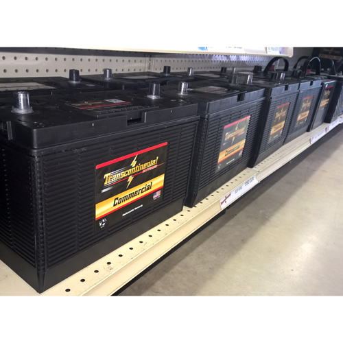 Transcontinental batteries for a variety of industrial applications