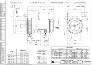 MJB-160 Marelli Generator