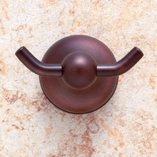 JVJ 25507 Liberty Series Old World Bronze Double Robe Hook