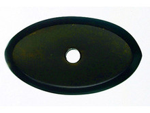 "Top Knobs M1437 MB Aspen Oval Backplate 1 1/2"" - Medium Bronze"