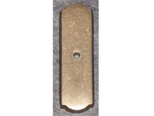 "Top Knobs M1431 LB Aspen Rectangle Backplate 2 1/2"" - Light Bronze"