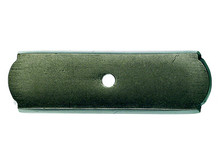 """Top Knobs M1430 SBL Aspen Rectangle Backplate 2 1/2"""" - Silicon Bronze Light"""