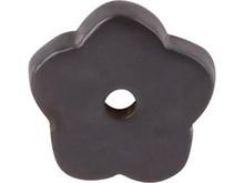 "Top Knobs M1427 MB Aspen Flower Plate 1"" - Medium Bronze"
