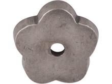 "Top Knobs M1425 SBL Aspen Flower Plate 1"" - Silicon Bronze Light"