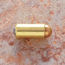 "JVJ 92637 Polished Brass 1/2"" Diameter Bullet Catch Bulk"
