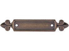 """Top Knobs M195 GBZ Tuscany Dover Backplate 2 1/2"""" - German Bronze"""