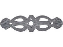 """Top Knobs M182 PTL Tuscany Newton Backplate 3 3/16"""" - Pewter Light"""