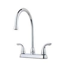 Price Pfister G136-2000 Pfirst Series Two Handle Kitchen Faucet - Chrome