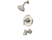Price Pfister LG89-8CBK Avalon Tub & Shower Faucet Trim - Brushed Nickel