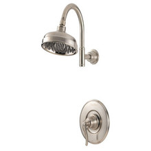Price Pfister LG89-7YPK Ashfield Single Handle Shower Faucet Trim - Brushed Nickel
