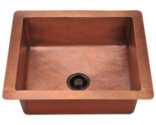 "Polaris P409 Single Bowl Copper Apron Kitchen Sink 41"" x 28.8"" x 17.2"""